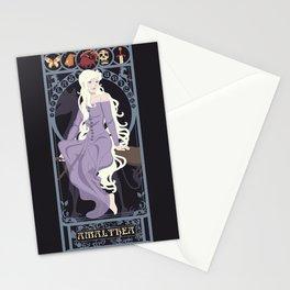 Amalthea Nouveau - The Last Unicorn Stationery Cards