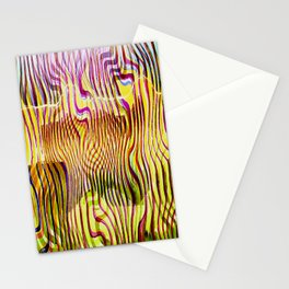 Abstracto Cientico Stationery Cards