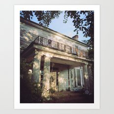 The House On Reese Road  Art Print