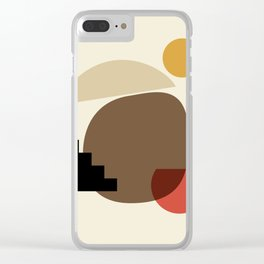 Shapes 2 - africa collection Clear iPhone Case