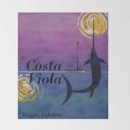 Costa Viola Reggio Calabria Throw Blanket