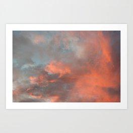 Sky 11/12/2010 17:19 Art Print