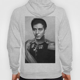 Al Pacino Scar Face General Portrait Painting | Fan Art Hoody