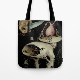 Tree Man, Surreal, Hieronymus Bosch, The Garden of Earthly Delights Tote Bag