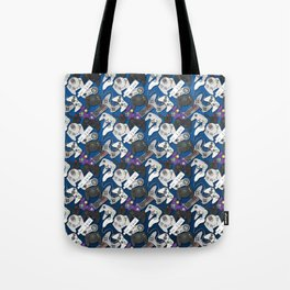 Game On- Blue Tote Bag