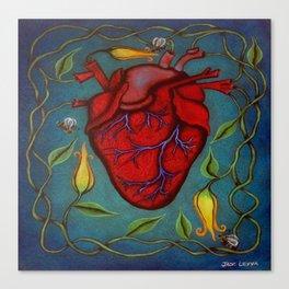 De Todo Corazón Canvas Print