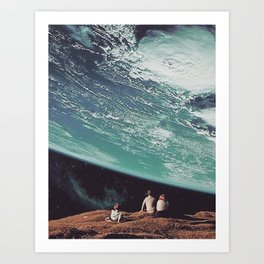 Astronomical Limits Art Print