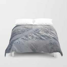 Covered by Clouds Duvet Cover