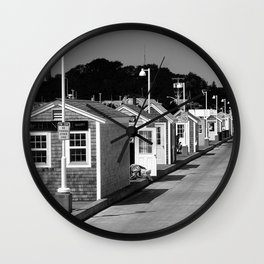 Provincetown photography Wall Clock