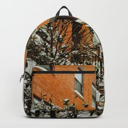 Brooklyn Wintertime is coming Brownstone Backpack
