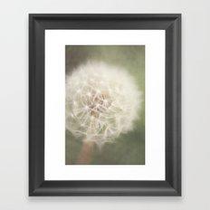 Little wishes Framed Art Print
