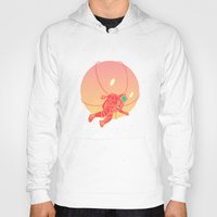 astronaut Hoodies featuring Astronaut by chyworks