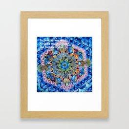Sacred Geometry - Andrew Kaminski Art Print Framed Art Print