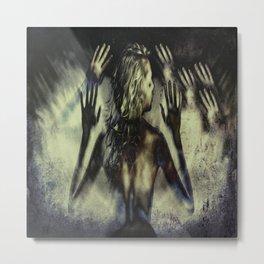 Gathering of Hands Metal Print