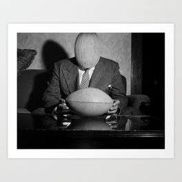 Mr Melon wondering what that is. 1942. Art Print