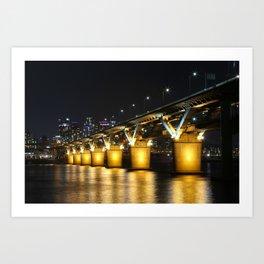 Cheong Dam, Seoul, South Korea, Color Art Print
