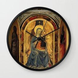 Lorenzo Ghiberti - Tabernacle of the Linaioli Wall Clock