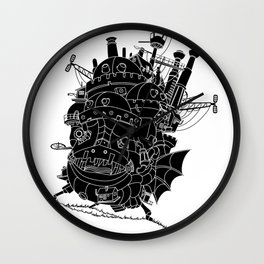 Howl's moving castle. Wall Clock