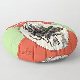 """""""Here Comes Krampus"""" Floor Pillow"""