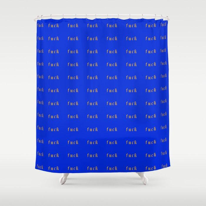 (fuck) Halcyon Shower Curtain