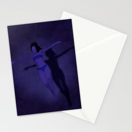 Midnight Swim Stationery Cards