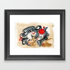 OKAMI Framed Art Print
