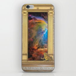 Godspeed Stephen Hawking iPhone Skin