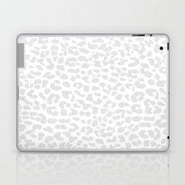 Pale Gray Leopard Laptop & iPad Skin