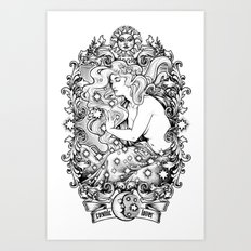 Cosmic Lover Art Print