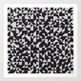 Girard Inspired Geometric Pattern Art Print