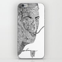 salvador dali iPhone & iPod Skins featuring Salvador Dali by Ina Spasova puzzle