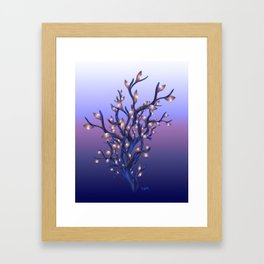 The Resolutions Tree at Dawn Framed Art Print