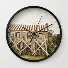 in repair::charleston Wall Clock