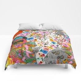 Wildflower Ghost Comforters