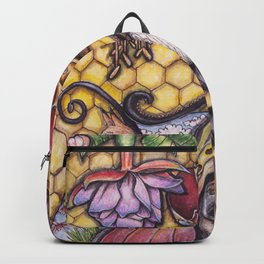 Bee The Light by DeeDee Draz Backpack