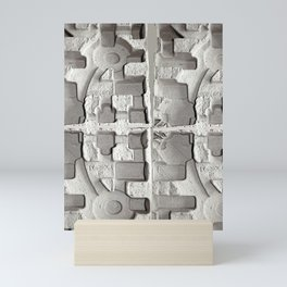 Sculptural Relief Mini Art Print