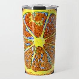 Orange orange Travel Mug
