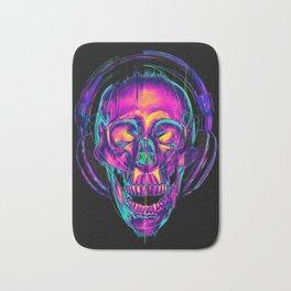 Trippy Skull Bath Mat