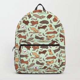 Wiener Dog Wonderland Backpack