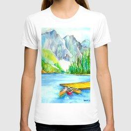 Lake Louise Watercolor T-shirt