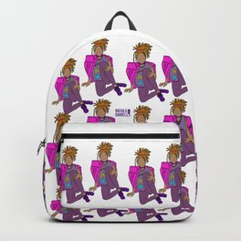 Young Black and Gifted Girl Backpack