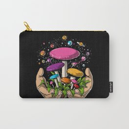 Magic Mushrooms Space Psychedelic Trip Carry-All Pouch