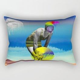 Mrs. Flubber Rectangular Pillow