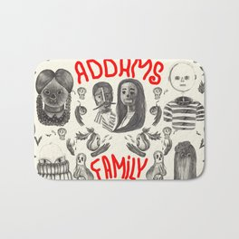 The Addams Family Bath Mat