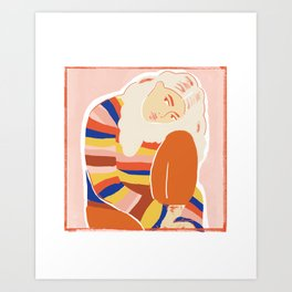 For My Lola Art Print
