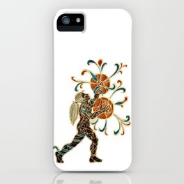 The Driving Beat: Marching Cymbals iPhone Case