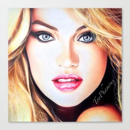 Candice Swanepoel Canvas Print