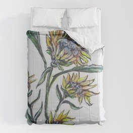 Sunflower Crazy Comforters