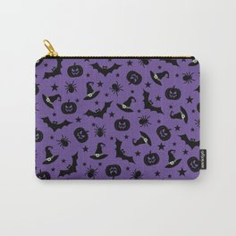 Halloween Party In Purple Carry-All Pouch