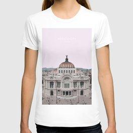 Mexico City Travel Artwork T-shirt